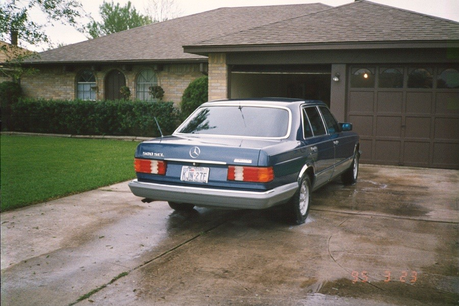 Things I Think I Think 1985 Mercedes Benz 500 Sel