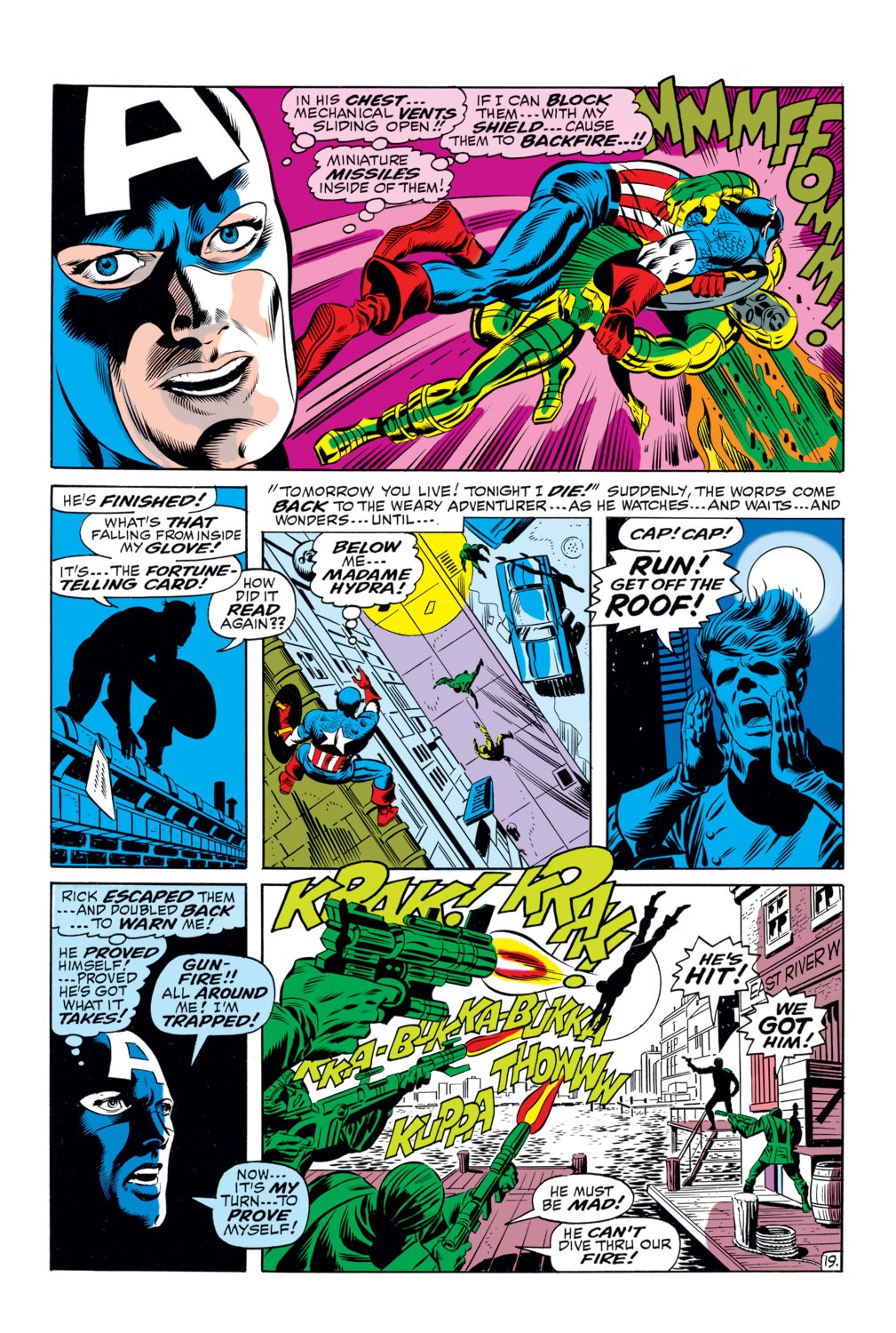 Captain America (1968) Issue #111 #25 - English 18