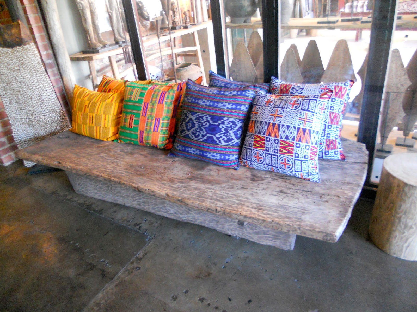 Charmant African Artisan Furniture Celebrated At Amatuli Store