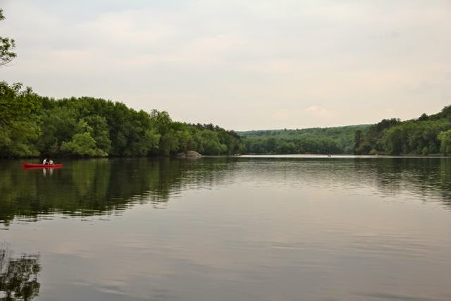 canoeing, a sustainable use of the St. Croix River