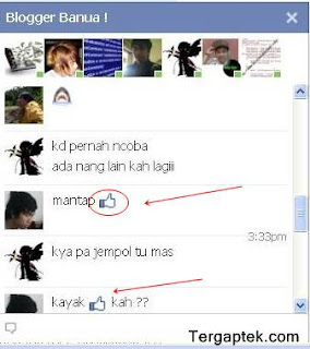 emoticon facebook tebaru