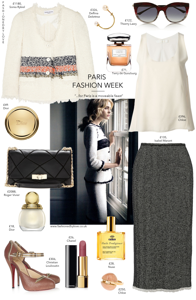 How to dress like Parisienne | Parisian chic | Parisian style | What to wear to Paris fashion week | Outfit inspiration