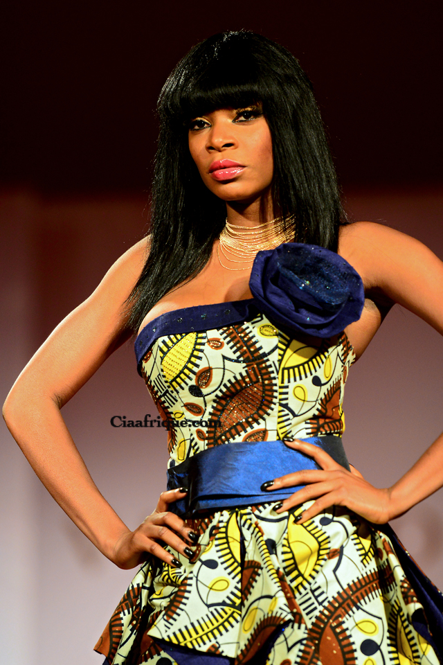 Vlisco Fashion Show Cotonou 2012: Grace wallace -la mode-africaine-sur-ciaafrique