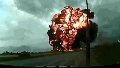 pesawat kargo Amerika jatuh di Bagram Afghanistan