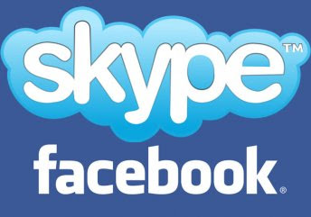 Facebook video chat with skype