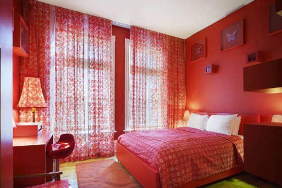10 Dormitorios en color rojo - Colores en Casa