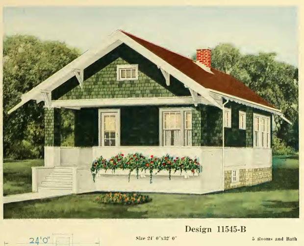 1900 1920 Craftsman Bungalow House Plans