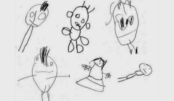 Desenhos das crianças indicam a sua inteligência futura