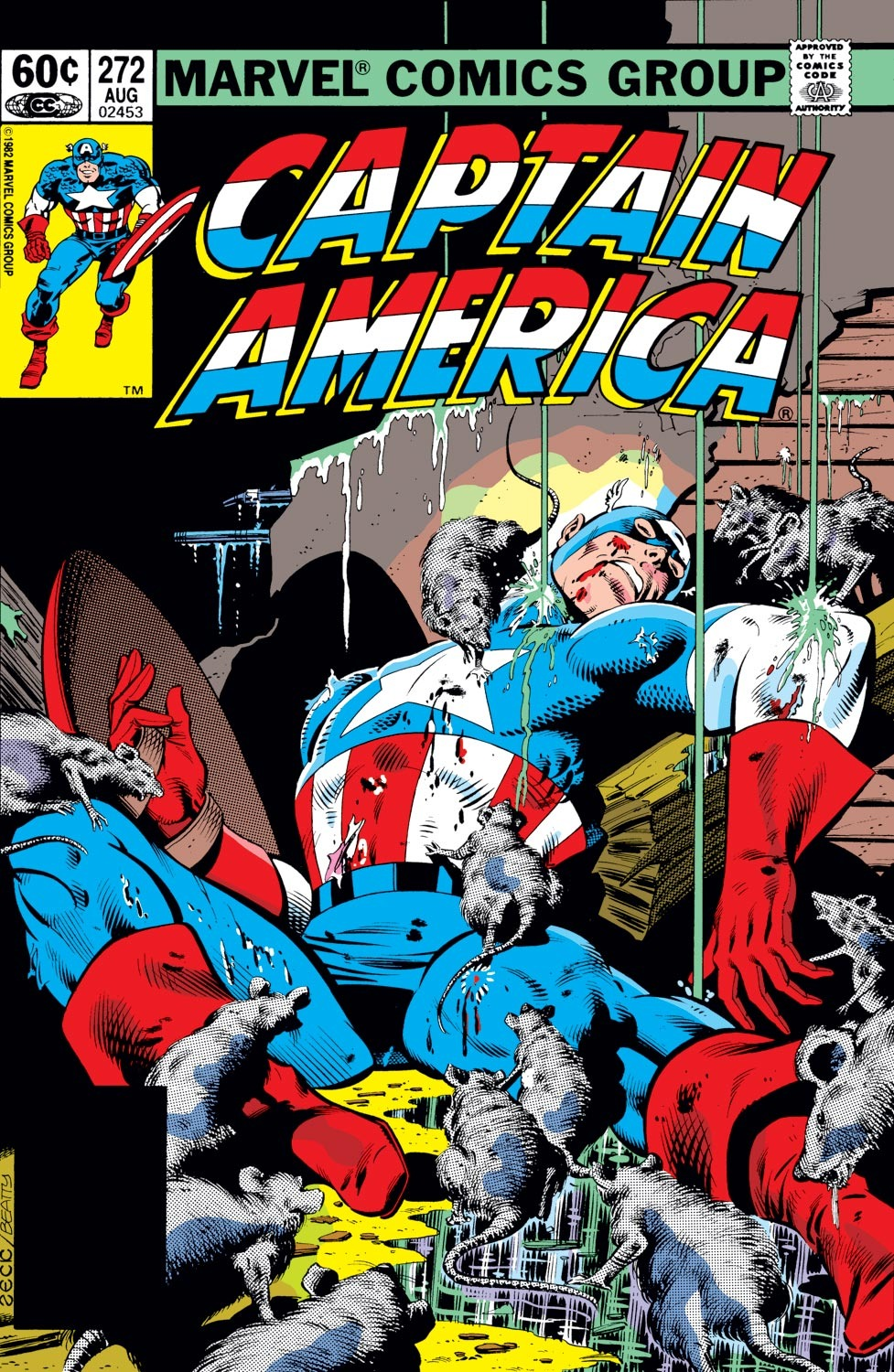 Captain America (1968) Issue #272 #188 - English 1