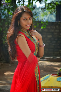 Khenishna Chandan Pictures in Red Salwar Kameez at Jagannatakam Movie Press Meet | ~ Bollywood and South Indian Cinema Actress Exclusive Picture Galleries