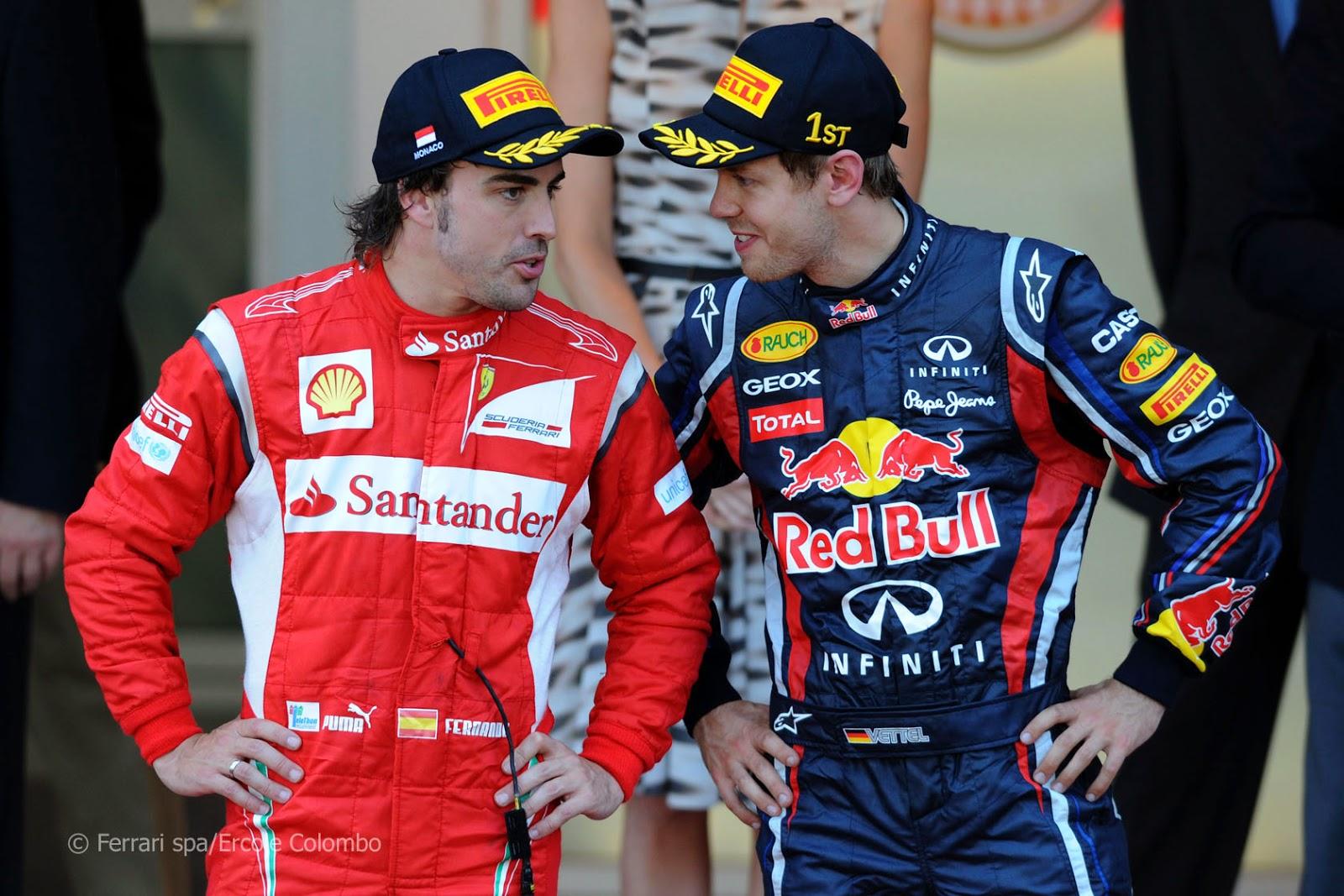 Foto Alonso Vettel | GP Giappone F1 2014 orari diretta streaming qualifiche e gara Ferrari a Suzuka