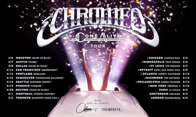 Chromeo feat. Toro y Moi - Come Alive