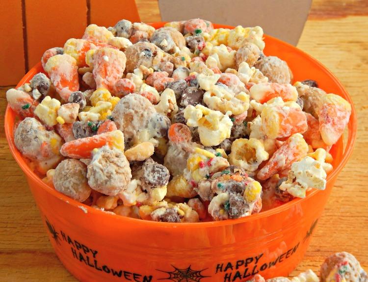Popcorn Monster Much Munch Party Mix Halloween