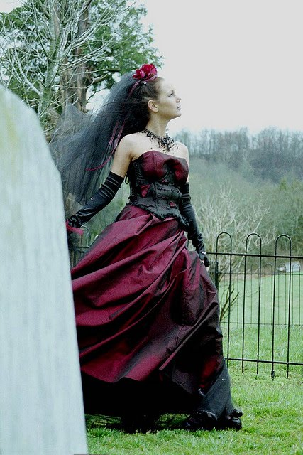 Gothic Bridal Gown Design