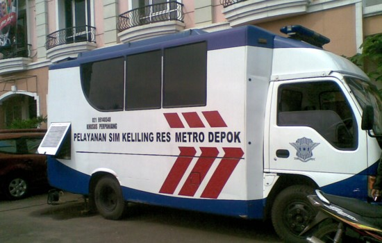 Mobil SIM Keliling Depok 2016