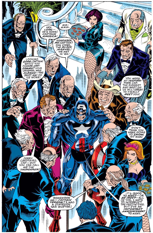 Captain America (1968) Issue #442 #396 - English 14