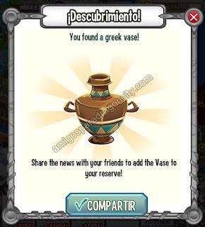 imagen de los vasos de la isla olimpus de dragon city