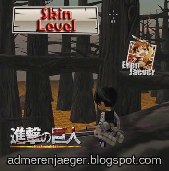 Skins Para Attack On Titan Tribute Game - Skins para minecraft pe de kirito