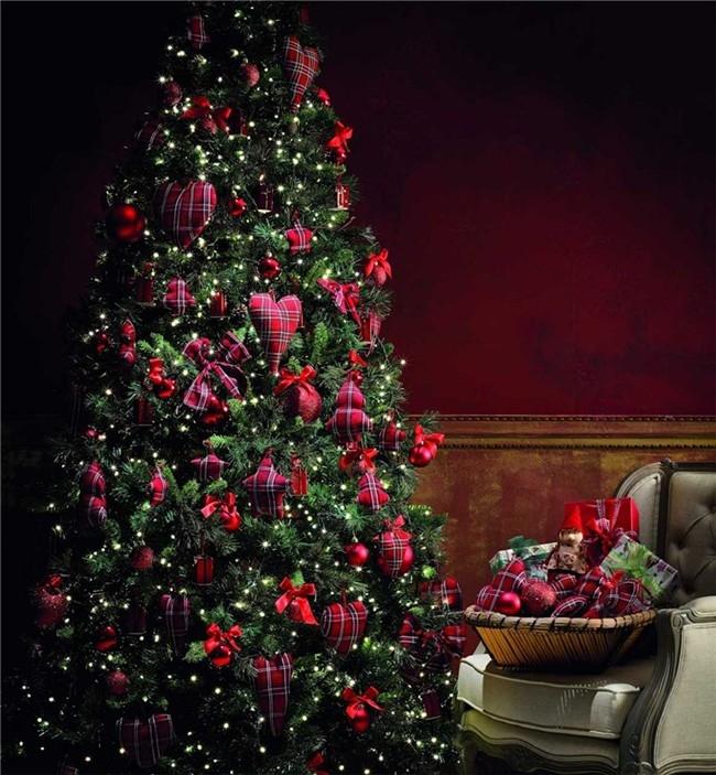 El cuaderno del decorador rboles de navidad colores i - Adornos para arbol navidad ...