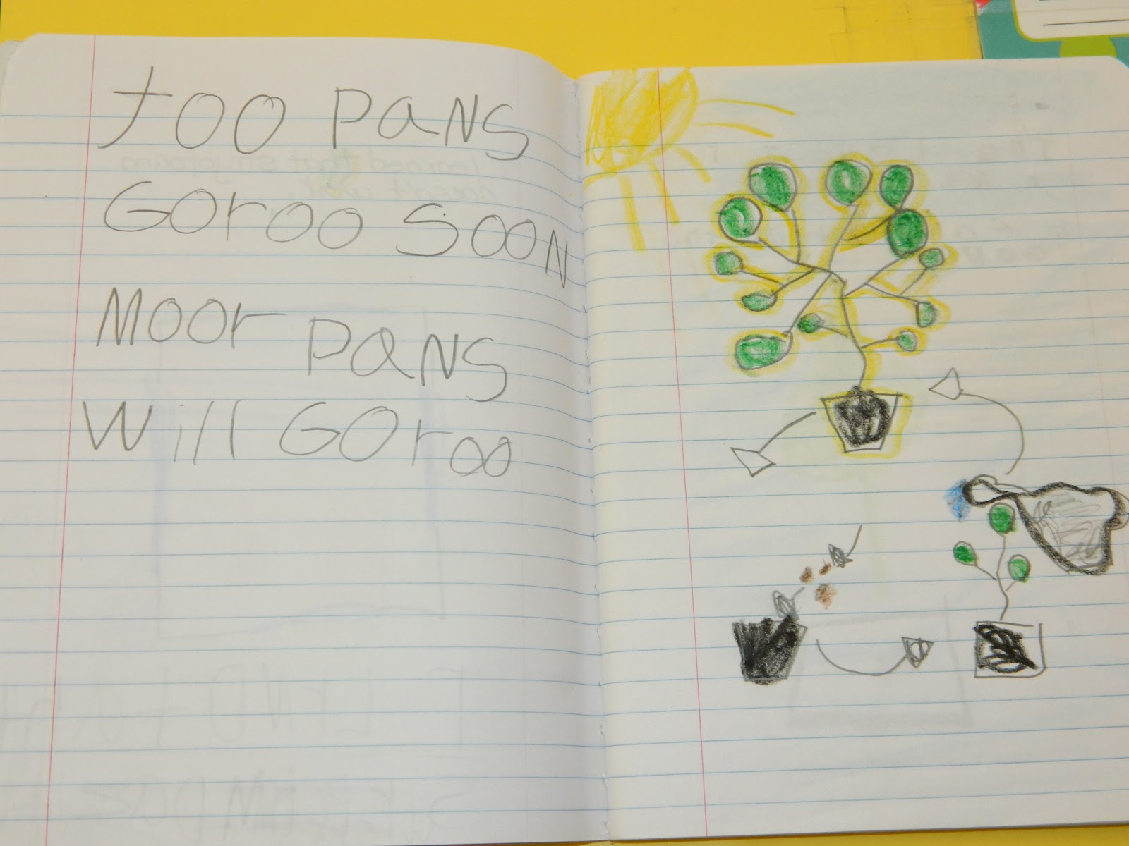 kindergarten writing journals How to write a nature journal and learn more about your local wildlife.