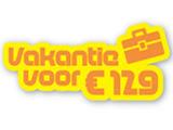 Sunparks 129 Euro aanbod