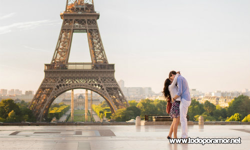 luna de miel en Francia