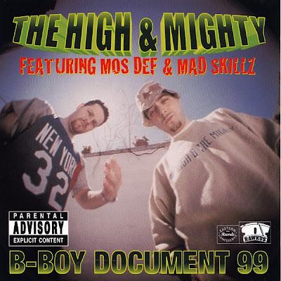 The High & Mighty – B-Boy Document 99 (CDS) (1999) (FLAC + 320 kbps)
