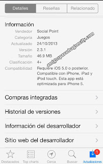 imagen de la actualizacion de dragon city ios version 2.3.1