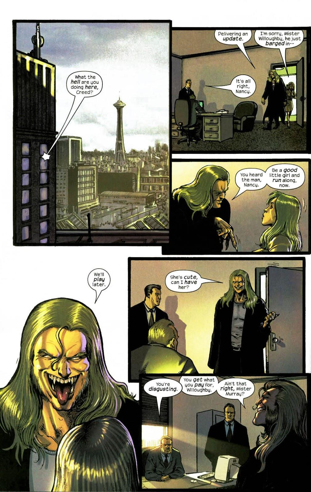 Read online Wolverine (2003) comic -  Issue #14 - 5