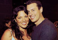 Sara Ramirez with Ryan Debolt