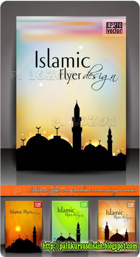 Flyer/Brochure/Karta Idul Fitri - Vector