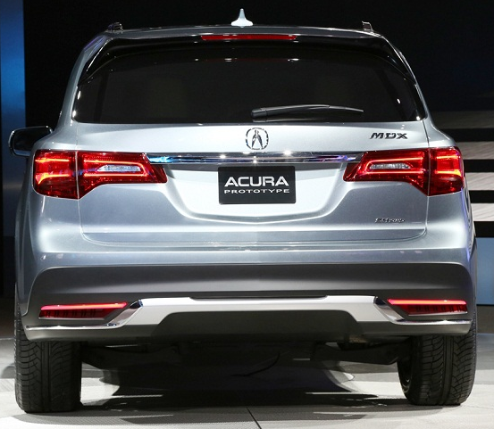 2017 Acura Mdx For Sale: Acura MDX Redesign 2016