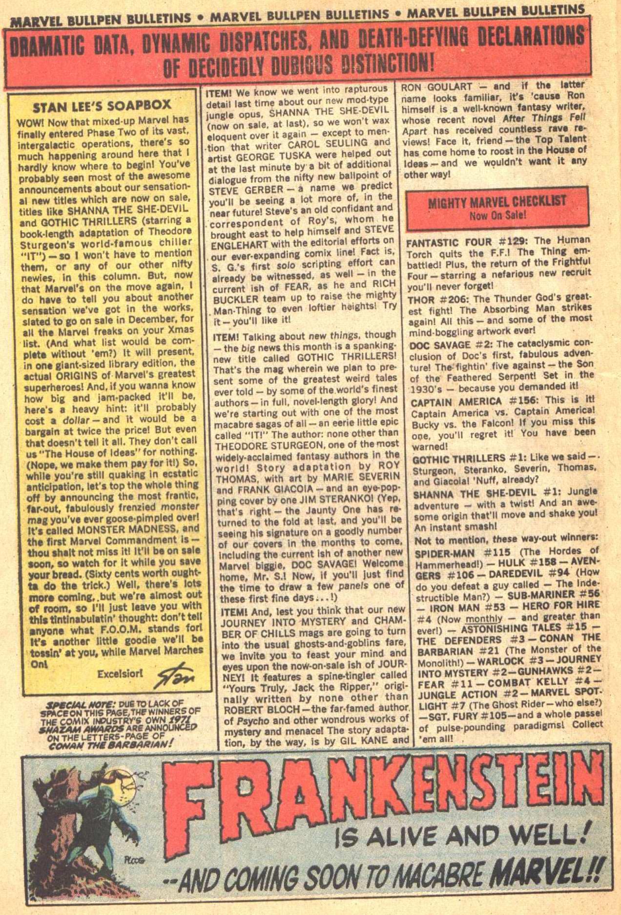 Conan the Barbarian (1970) Issue #21 #33 - English 22