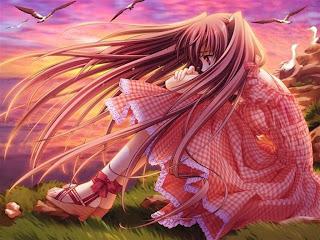 girl anime sad 2013