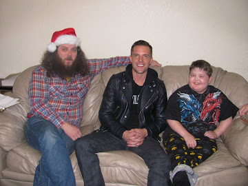 Jake, Brandon (The Killers) & Oliver