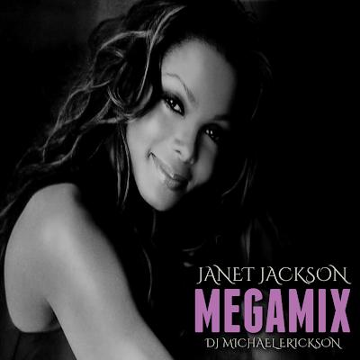 Cover design by Hamza 21 - DJ Michael Erickson - Janet Jackson Megamix