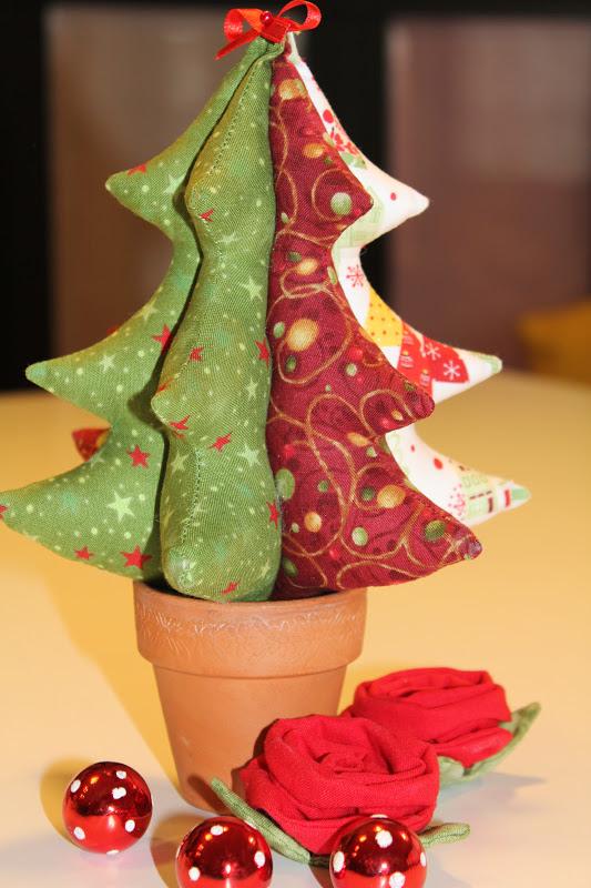 Mi hogar de patchwork octubre 2012 - Arbol navidad tela ...