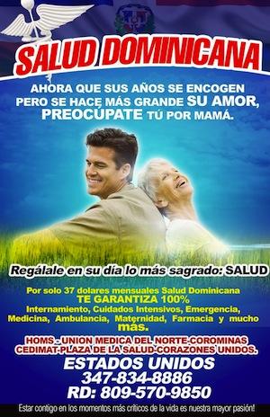 """ASEGURA TU FAMILIA """"SALUD DOMINICANA"""""""