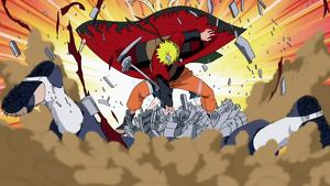 Pertarungan dalam Naruto