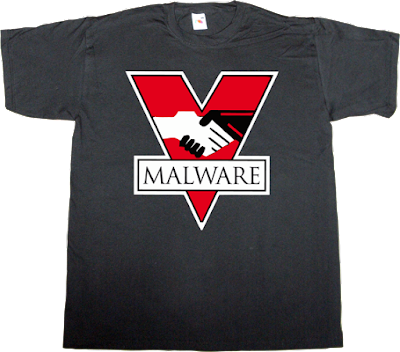 malware richard stallman free software freedom big brother george orwell useless copyright useless patents t-shirt ephemeral-t-shirts