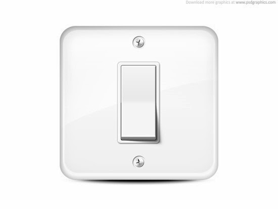 Light switch icon