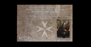 Malta: the Papal Bull 9th Centenary