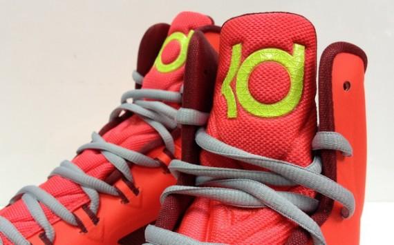 Nike Zoom KD 5 V DMV Bright Crimson Volt-Wolf Grey