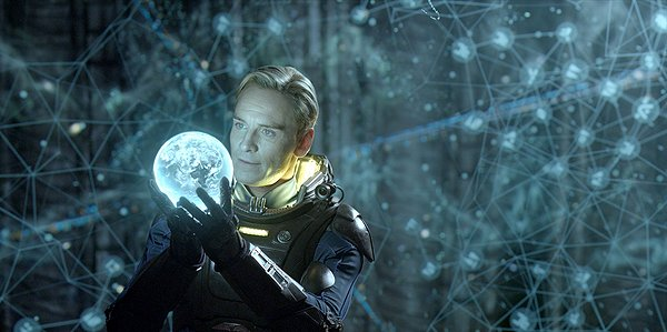 prometheus IMAX 3D movie, david