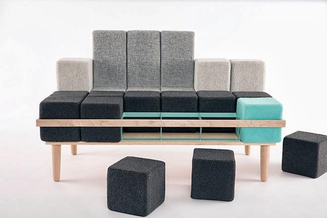 BLOCK D, el sofá creativo personalizable