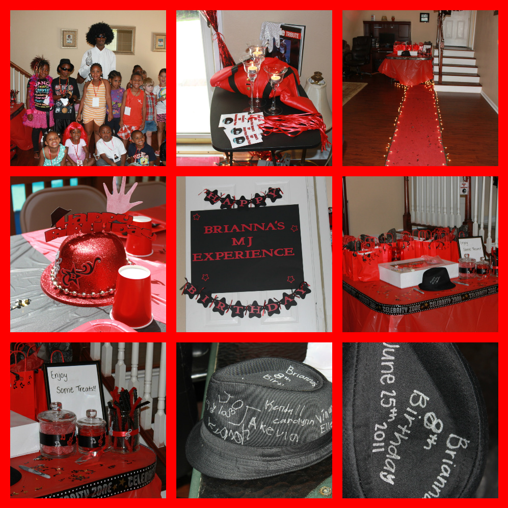 Dream Makers Party Planners and Party Supplies: Michael Jackson Party
