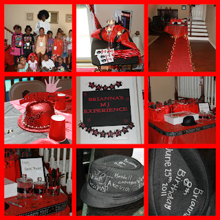 Dream Makers Party Planners and Party Supplies Michael Jackson Party