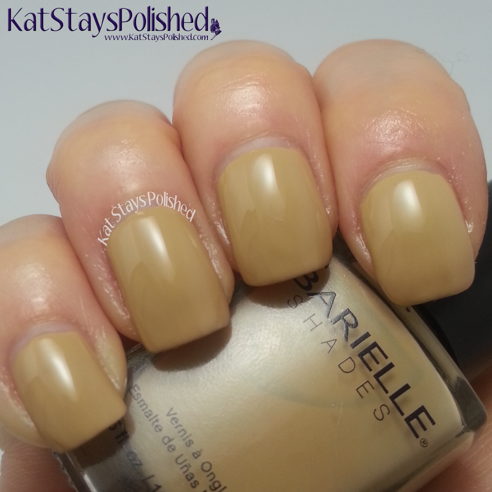 Barielle Spring Velvets 2014 - My Tan Blazer | Kat Stays Polished