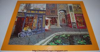 Puzzle de 1000 piezas de Educa, con una pintura de estilo francés
