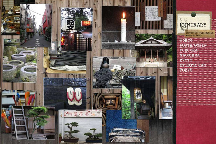 Photo montage, Japanese style, Japan architecture, Sibella Court